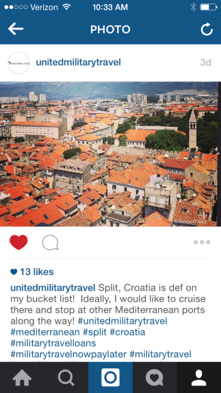 instagram screen shot, screen shot, instagram, united military travel, how to use instagram
